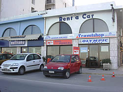 TRAVELSHOP RENT A CAR